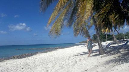 Maria La Gorda beach (tourist only)
